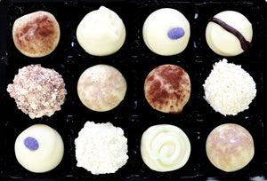 White Chocolate Truffle Selection
