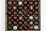 36 vegan chocolates selection box