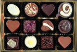 selection of 12 longer lasting truffles