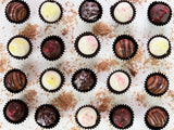Caramel Truffles Selection by The Pod Chocolates.