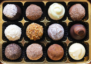 Favourites Chocolate Truffle Selection by The Pod Chocolates