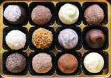 Favourites Chocolate Truffle Selection in a gift box.