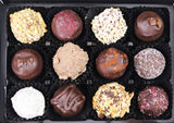 Vegan Chocolate Truffle Selection by The Pod Chocolates.
