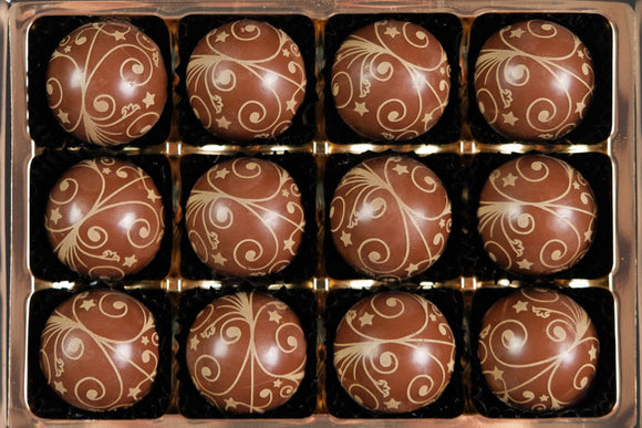 salted caramel filled chocolates