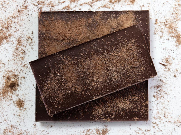 Sugar free peppermint dark chocolate bar.