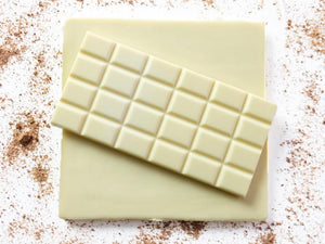 100g sugar free white chocolate bar by The Pod Chocolates.