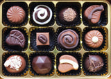 Sugar Free Chocolate Truffle Selection in a gift box.