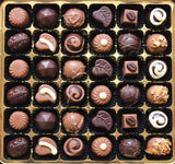 Sugar Free Chocolate Truffle Selection in a large box.