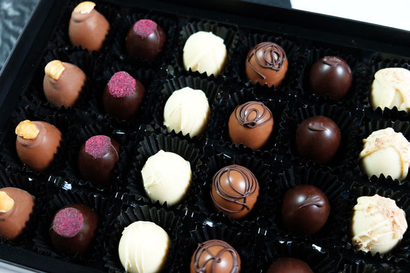 box of 24 sugar free chocolates