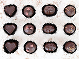 Handmade Vegan Tipsy Treats Chocolates.