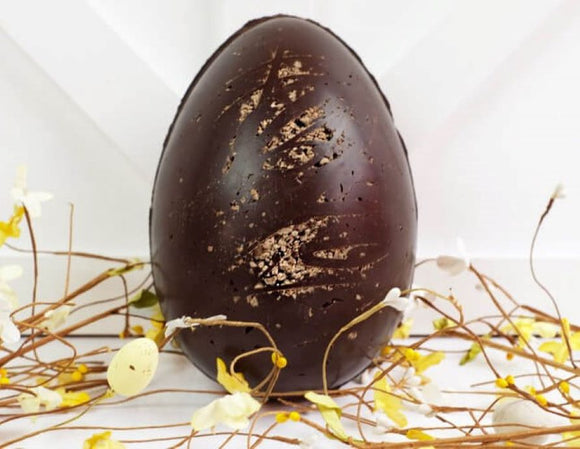 vegan large chocolate orange egg