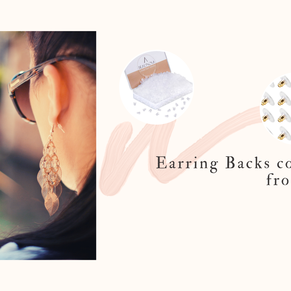 beadnova earring backs collection
