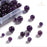 BEADNOVA 4-10mm Natural Violet Purple Quartz Gemstone for Jewelry Making(340pcs)