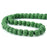 BEADNOVA 8mm Color Lava Gemstone Beads Energy Stone Healing Power Loose Beads for Jewelry Making 48~50pcs (8mm x 1 Strand, Dark Green)