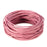 BEADNOVA 1.5mm Genuine Round Leather Cord Leather Strips For Jewelry Making Bracelet Necklace Beading, 10 Meters/ 11 Yards, Light Rose