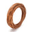 BEADNOVA 2.0mm Genuine Round Leather Cord Leather Strips For Jewelry Making Bracelet Necklace Beading, 10 Meters/ 11 Yards, Natural Color
