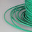 BEADNOVA 3mm Faux Suede Cord Flat Leather Cord 100 Yards Roll Spool for Necklace Bracelet Jewelry Making, Green