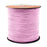 BEADNOVA 3mm Faux Suede Cord Flat Leather Cord 100 Yards Roll Spool for Necklace Bracelet Jewelry Making, Lavender