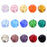 BEADNOVA 8mm Briolette Faceted Rondelle Crystal Glass Beads For Jewelry Making DIY Craft Beads Bracelet Wholesale Mix lot 300pcs
