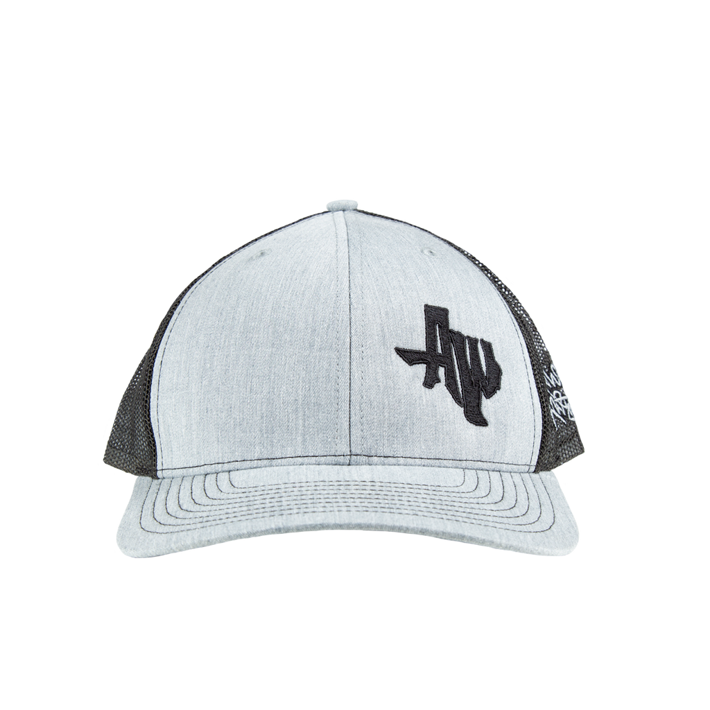 AW Grey Trucker Hat