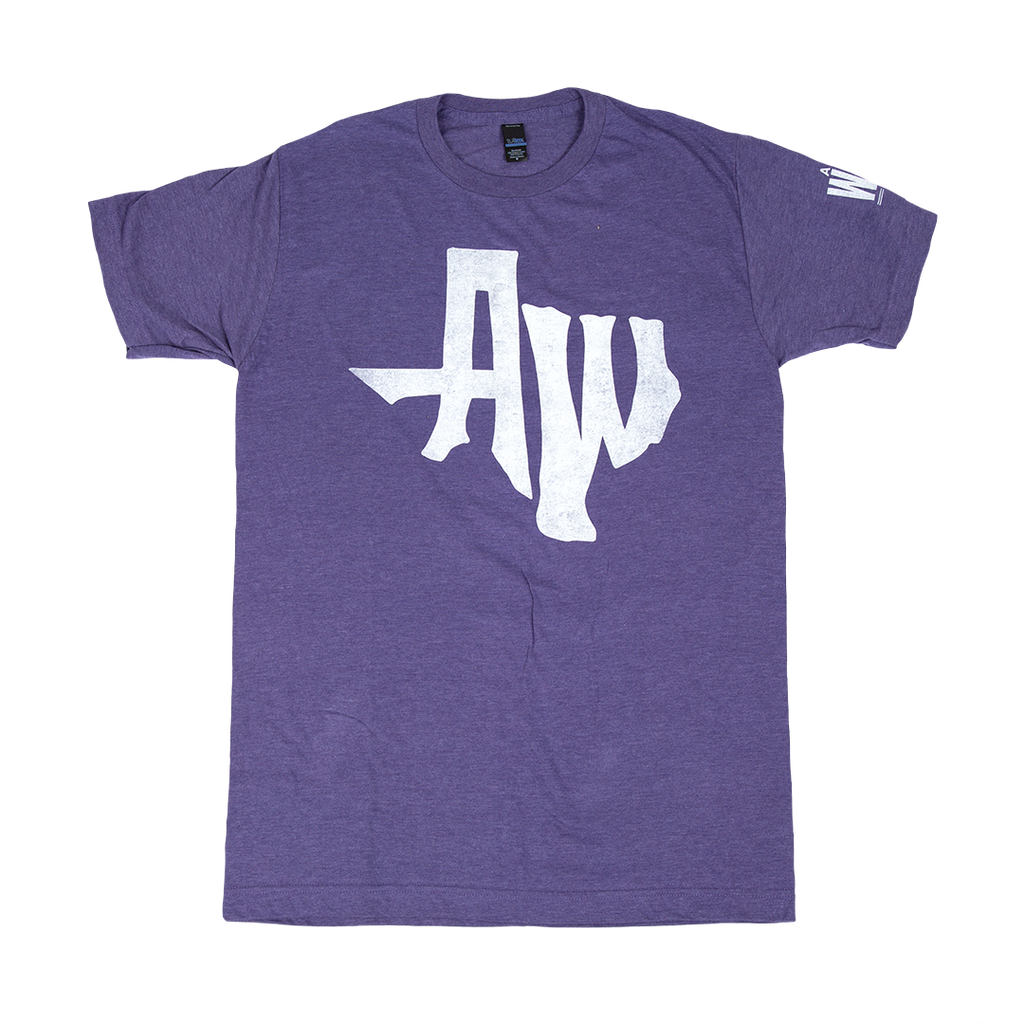AW TX Purple Tee