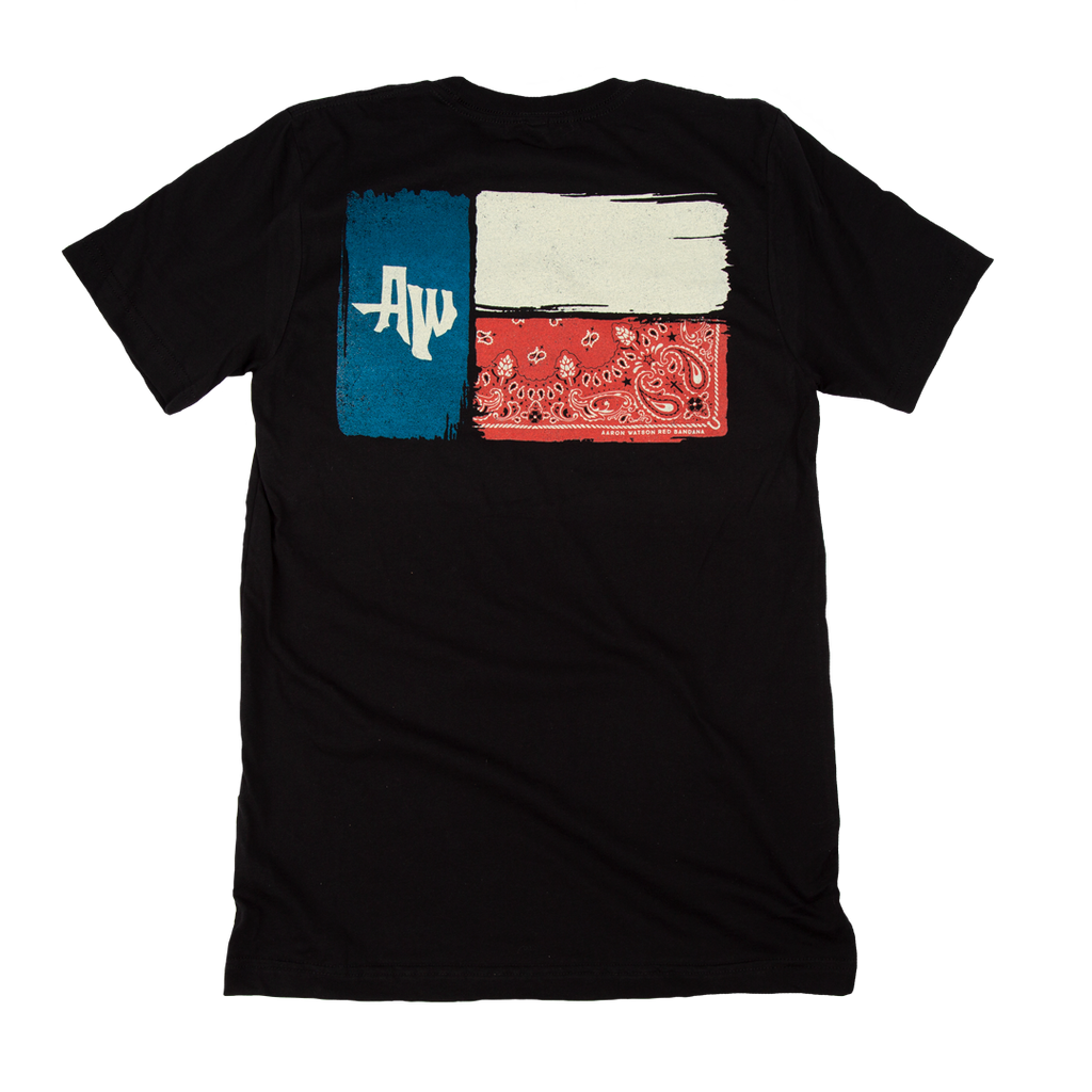 Texas Flag Bandana Tee