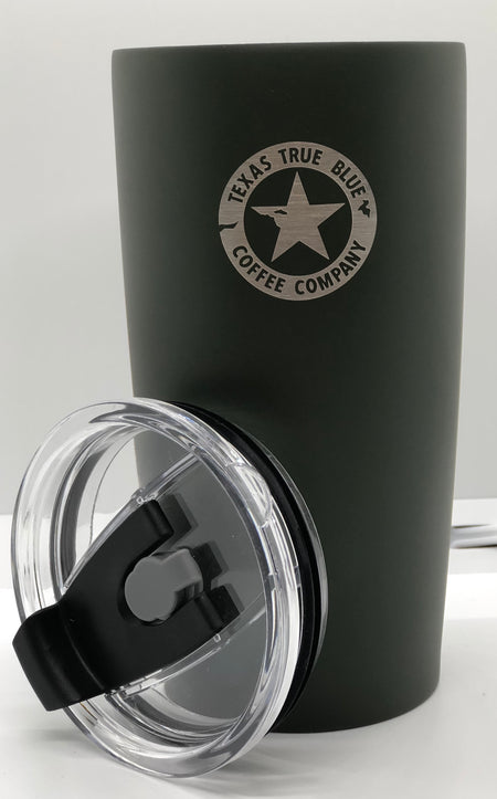 Texas True Blue Stainless Steel Vacuum Insulated Tumbler