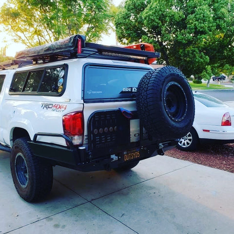 2016+ TACOMA HC REAR BUMPERS