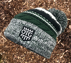 OTG Pom Pom Team Beanie GREEN