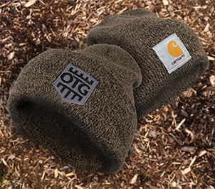 OTG / CARHARTT Acrylic Watch Hat Tan