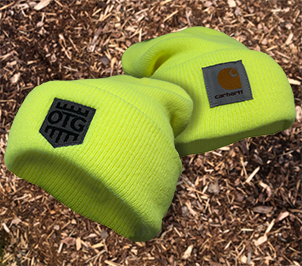 OTG / CARHARTT Acrylic Watch Hat NEON Yellow