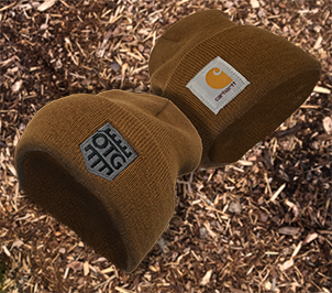 OTG / CARHARTT Acrylic Watch Hat Brown