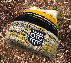 OTG Pom Pom Team Beanie YELLOW