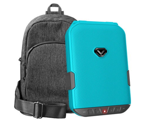 LifePod (Luxe Blue) + SlingBag (Gray) TrekPack