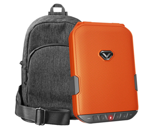 LifePod (Rush Orange) + SlingBag (Gray) TrekPack