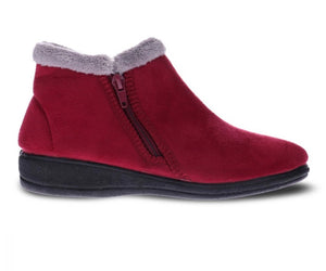 Scholl Dahlia Slipper Burgundy