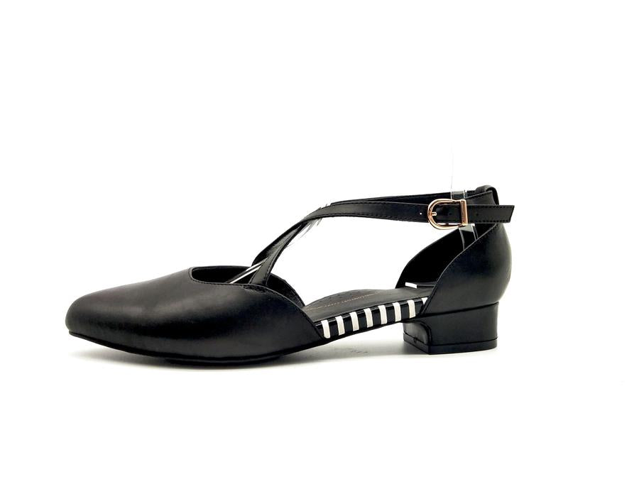 EMOII Lily - Black Nappa Leather