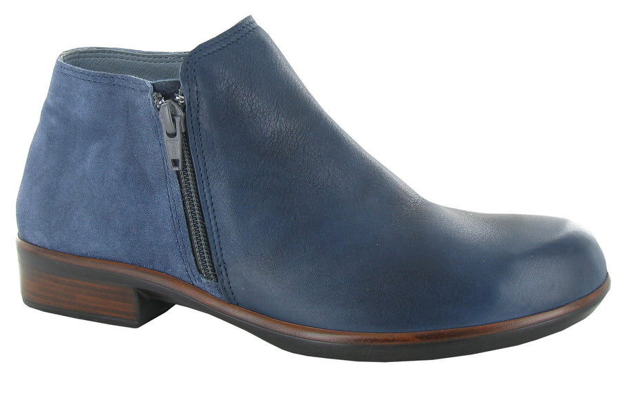 NAOT Helm Ink leather mid blue