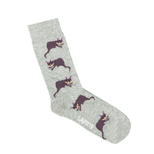 Lafitte Socks Possum Grey