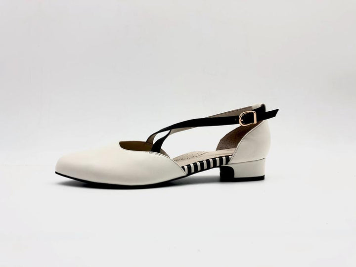 EMOII Lily - White Nappa Leather