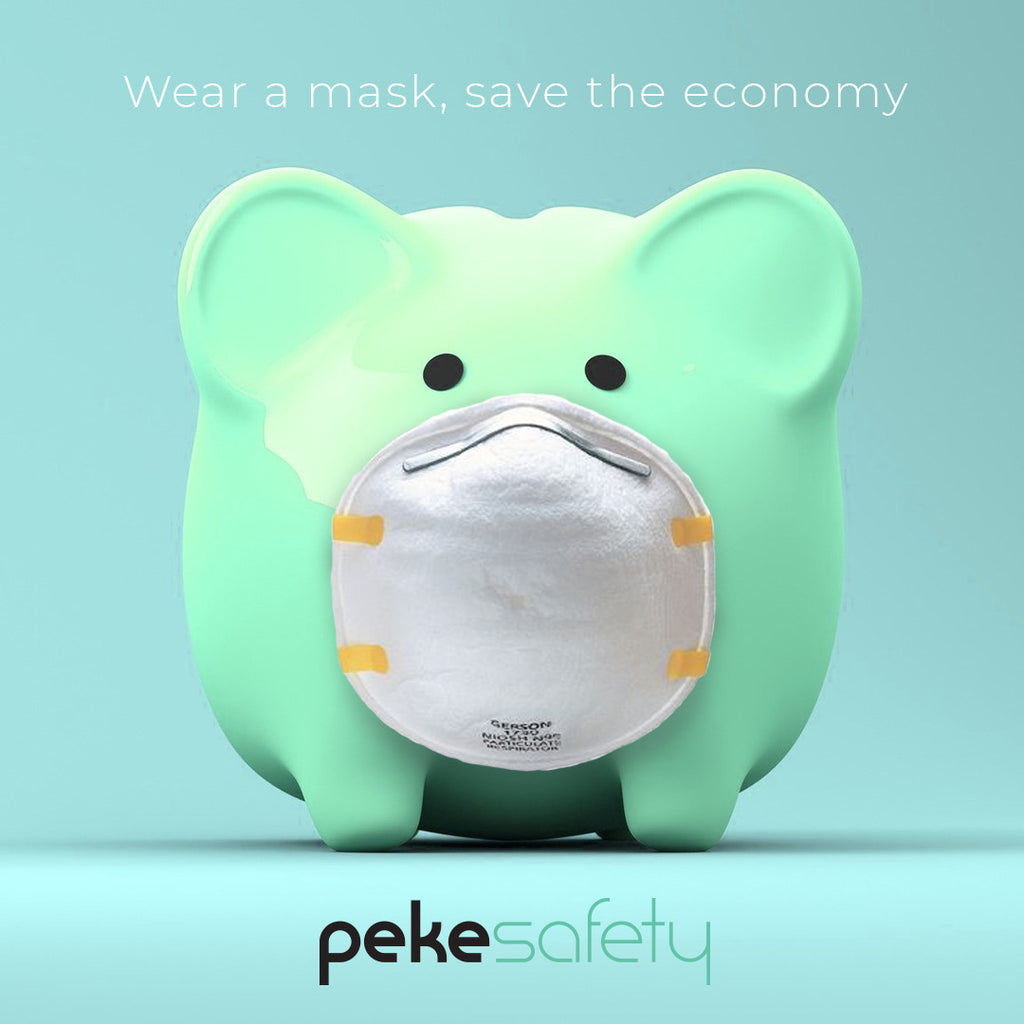 Wear A Mask, Save The Economy