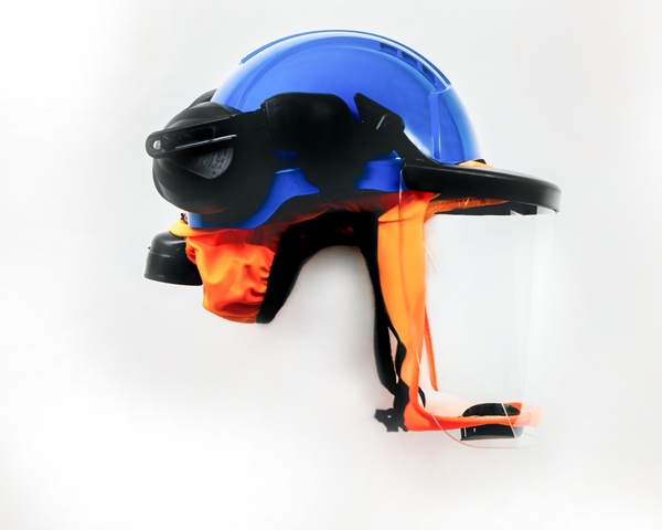 CA-4 Safety Helmet With Hearing Protection And Face Shield