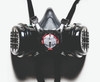 Force 8 Twin Cartridge Half Mask Respirator Detail View