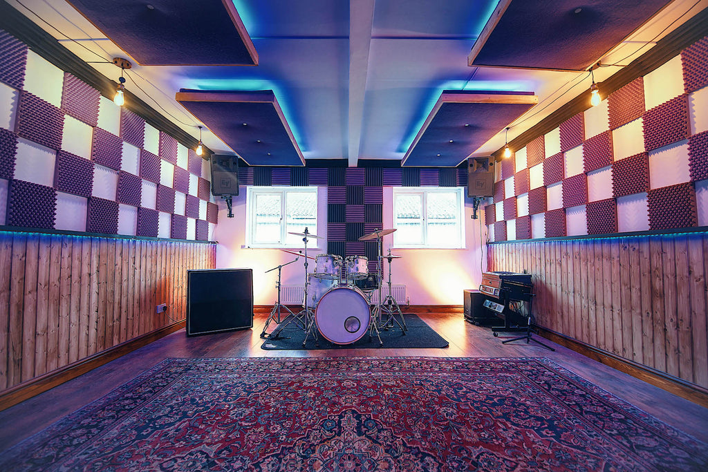 Recording and rehearsal studio Gloucestershire - Upstairs