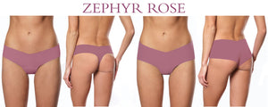 Zephyr Rose Seamless Panties
