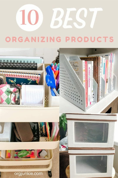 My Top 10 Best Organizing Products Revealed