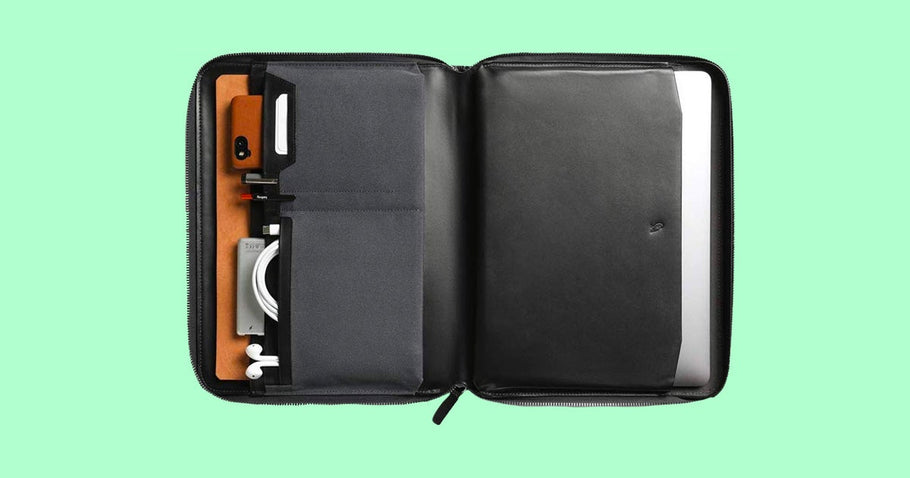 The Bellroy tech folio is many things: A laptop case, a tablet case, a stylus carrier, an all-in-one organizer