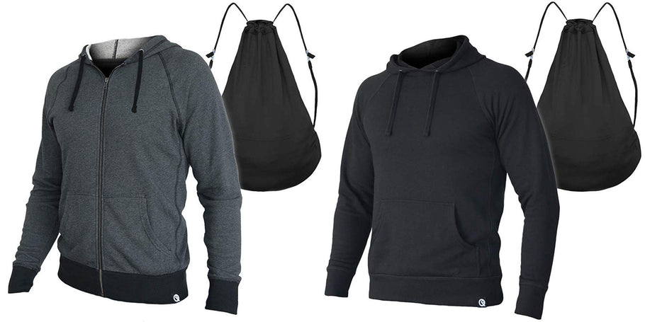 Today only, as part of its Gold Box Deals of the Day, Quikflip Apparel via Amazon offers its Quikflip 2-in-1 Reversible Backpack Hoodie in two styles for $38.47 shipped