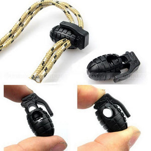 10 Pcs/Lot Edc Gear Tactical Outdoor Hiking Boots Shoes Grenade Shoelace