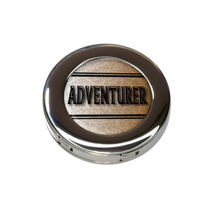Adventurer Travel Inspiration Foldable Purse Handbag Hook Hanger Holder